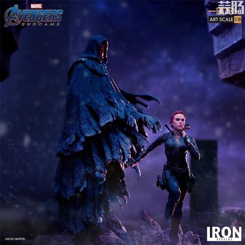 Iron Studios发布复仇者联盟4:终局之战1/10黑寡妇和红骷髅造型雕像 模玩 第5张