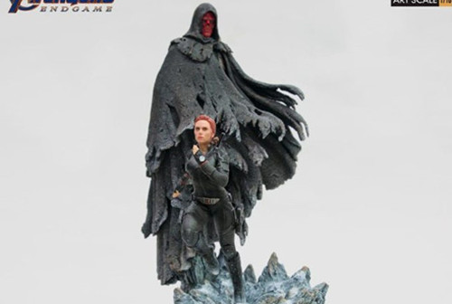 Iron Studios发布复仇者联盟4:终局之战1/10黑寡妇和红骷髅造型雕像