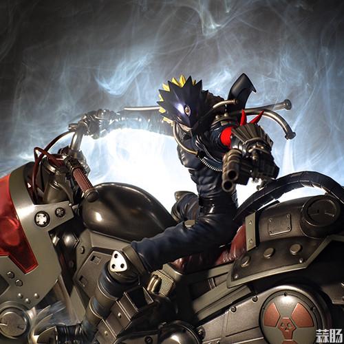 Megahouse推出《数码宝贝》地狱兽手办 模玩 第1张