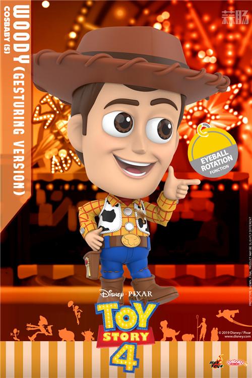 Hot Toys推出《玩具总动员4》胡迪与巴斯光年COSBABY 模玩 第2张