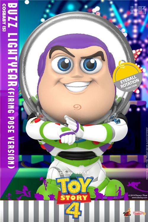 Hot Toys推出《玩具总动员4》胡迪与巴斯光年COSBABY 模玩 第1张