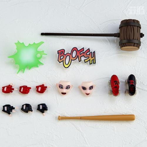 海洋堂推出惊奇山口式015小丑女哈莉奎因 性感小恶魔 模玩 第3张
