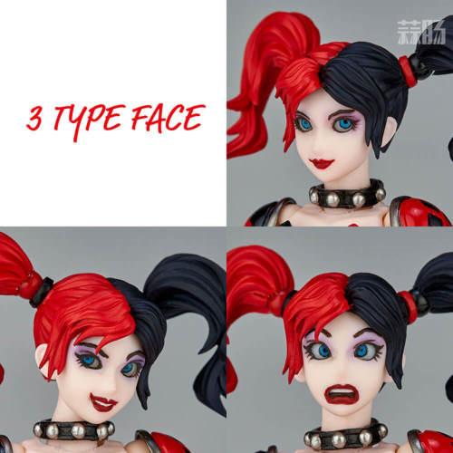 海洋堂推出惊奇山口式015小丑女哈莉奎因 性感小恶魔 模玩 第4张