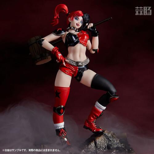 海洋堂推出惊奇山口式015小丑女哈莉奎因 性感小恶魔 模玩 第9张