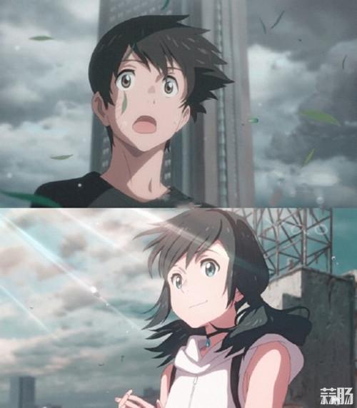 """动画电影《天气之子》发布30秒港版""""恋爱预报"""" 你的名字。 天气之子 新海诚 动漫  第1张"""