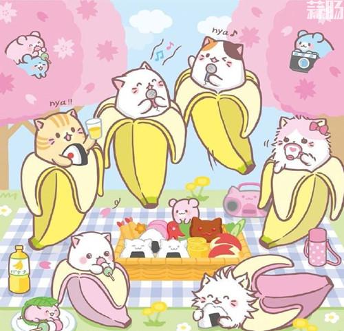 TV动画《香蕉喵》新系列制作决定 村濑步 梶裕贵 香蕉喵 动漫  第2张