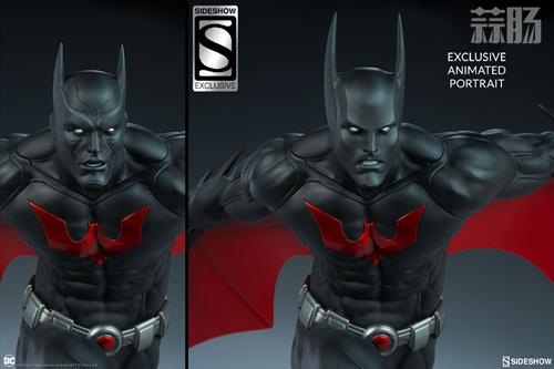 Sideshow 发布未来蝙蝠侠泰瑞·麦金纳斯雕像 模玩 第6张