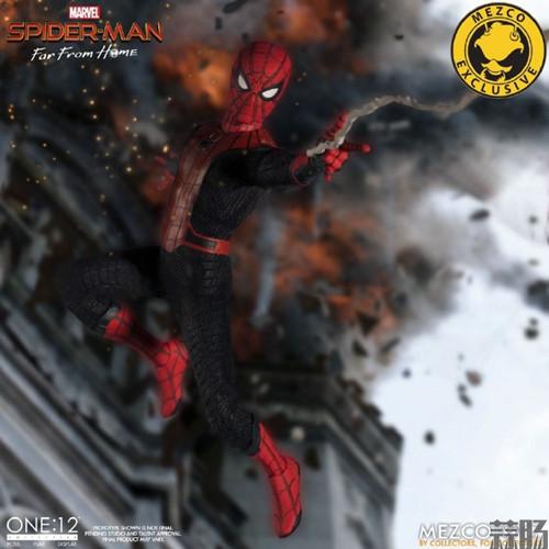 Mezco Toyz蚂蚁推出1/12《蜘蛛侠:英雄远征》蜘蛛侠DX版 模玩 第2张