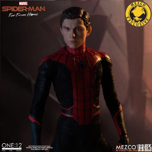 Mezco Toyz蚂蚁推出1/12《蜘蛛侠:英雄远征》蜘蛛侠DX版 模玩 第3张
