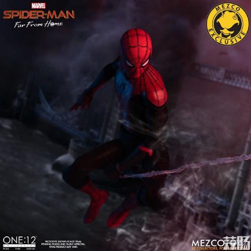 Mezco Toyz蚂蚁推出1/12《蜘蛛侠:英雄远征》蜘蛛侠DX版 模玩 第9张