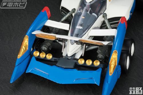 MEGAHOUSE 公开VARIABLE ACTION Hi-SPEC 1/18 完全变形《高智能方程式》超级雷神 模玩 第7张