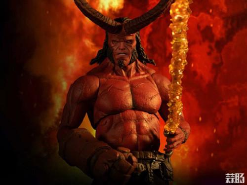 Mezco Toys 发布 ONE:12 Collective系列 限定款Hellboy 地狱男爵人偶