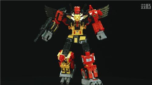 《变形金刚》最大玩具宇宙大帝机器人上色版欣赏 细节满满 变形金刚 第7张