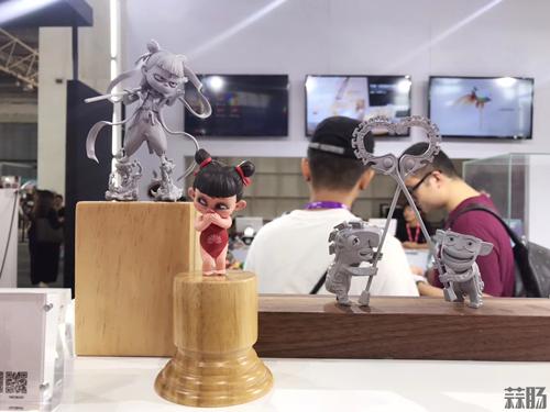 《哪吒之魔童降世》手办原型亮相BTS潮流玩具展