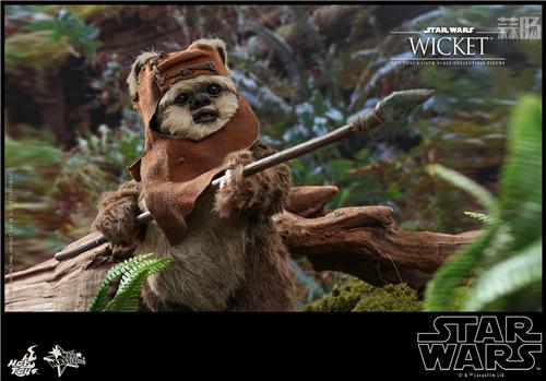 Hot Toys推出Wicket与莱娅公主两款全新《星球大战:绝地归来》1:6珍藏人偶 模玩 第2张