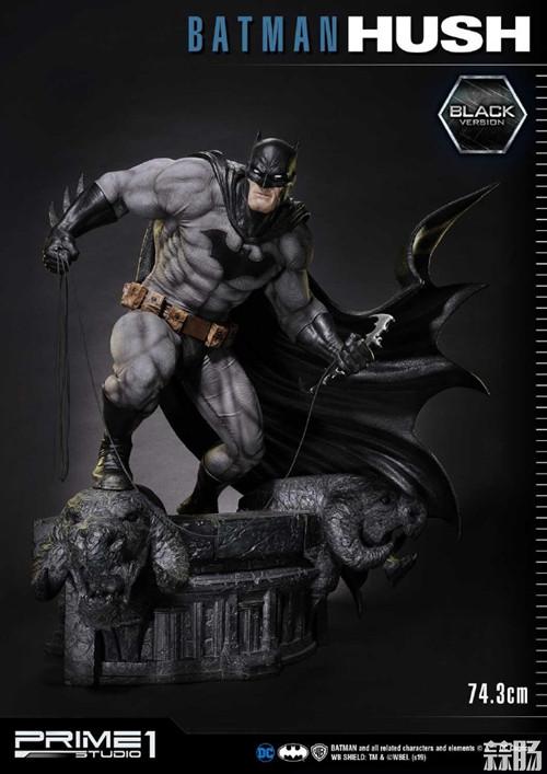 Prime 1 Studio推出DC1/3蝙蝠侠:缄默雕像 模玩 第4张