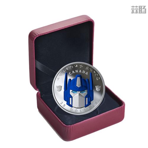加拿大推出变形金刚纪念币 擎天柱大哥成为封面人物 变形金刚 第2张