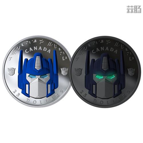 加拿大推出变形金刚纪念币 擎天柱大哥成为封面人物 变形金刚 第3张