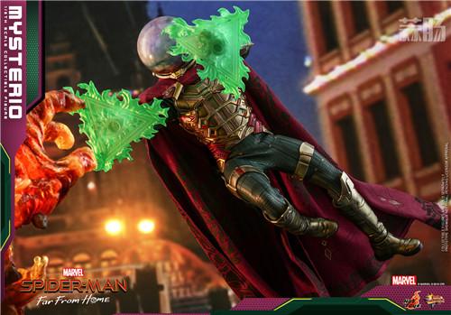 Hot Toys推出《蜘蛛侠:英雄远征》神秘客1:6比例人偶 模玩 第1张