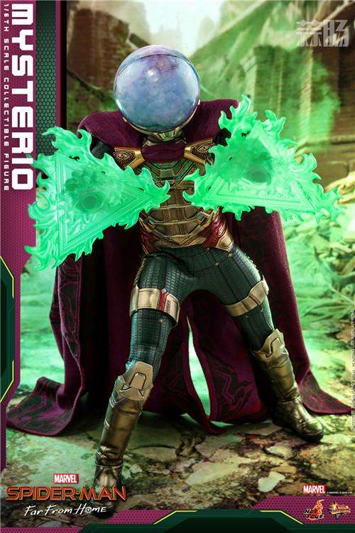 Hot Toys推出《蜘蛛侠:英雄远征》神秘客1:6比例人偶 模玩 第5张