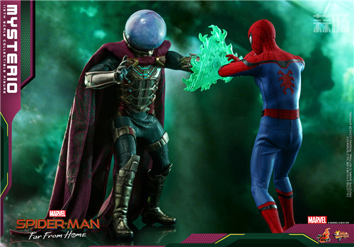 Hot Toys推出《蜘蛛侠:英雄远征》神秘客1:6比例人偶 模玩 第3张