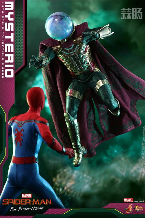 Hot Toys推出《蜘蛛侠:英雄远征》神秘客1:6比例人偶 模玩 第6张