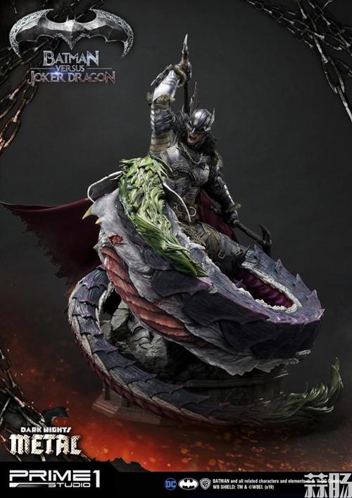 Prime 1 Studio 发布蝙蝠侠对战小丑龙雕像 模玩 第2张