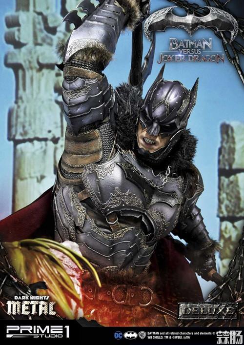 Prime 1 Studio 发布蝙蝠侠对战小丑龙雕像 模玩 第3张