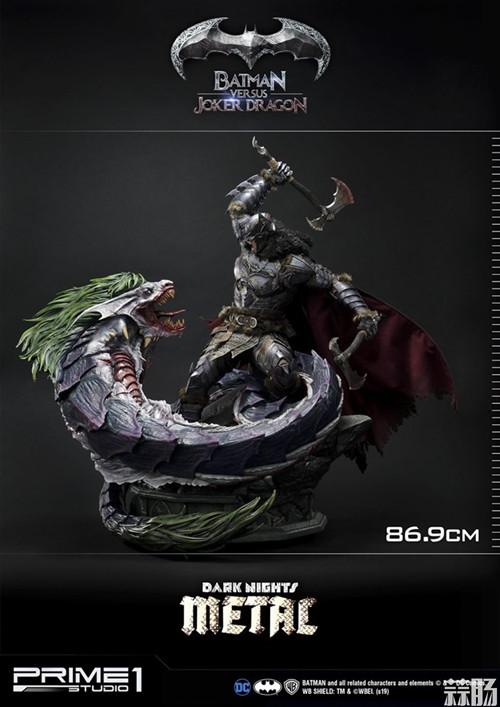 Prime 1 Studio 发布蝙蝠侠对战小丑龙雕像 模玩 第1张