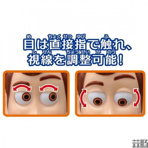 TAKARATOMY公布《玩具总动员4》胡迪警长手办 胡迪警长 玩具总动员4 TAKARATOMY 模玩  第7张