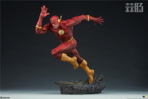 Sideshow 公布DC漫画版闪电侠雕像 模玩 第4张