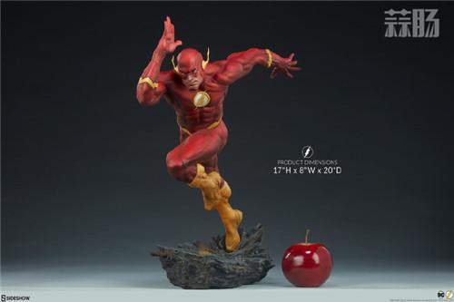 Sideshow 公布DC漫画版闪电侠雕像 模玩 第3张