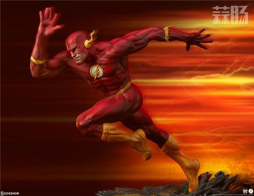 Sideshow 公布DC漫画版闪电侠雕像 模玩 第2张