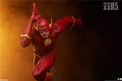 Sideshow 公布DC漫画版闪电侠雕像 模玩 第5张