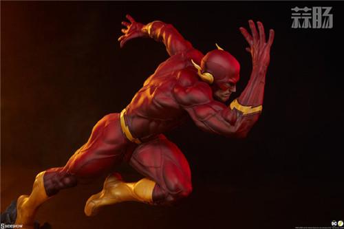 Sideshow 公布DC漫画版闪电侠雕像 模玩 第9张