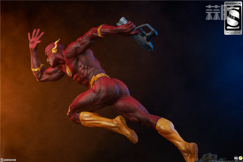 Sideshow 公布DC漫画版闪电侠雕像 模玩 第8张