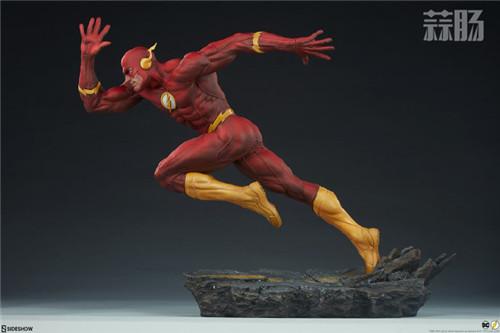Sideshow 公布DC漫画版闪电侠雕像 模玩 第7张