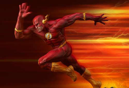 Sideshow 公布DC漫画版闪电侠雕像
