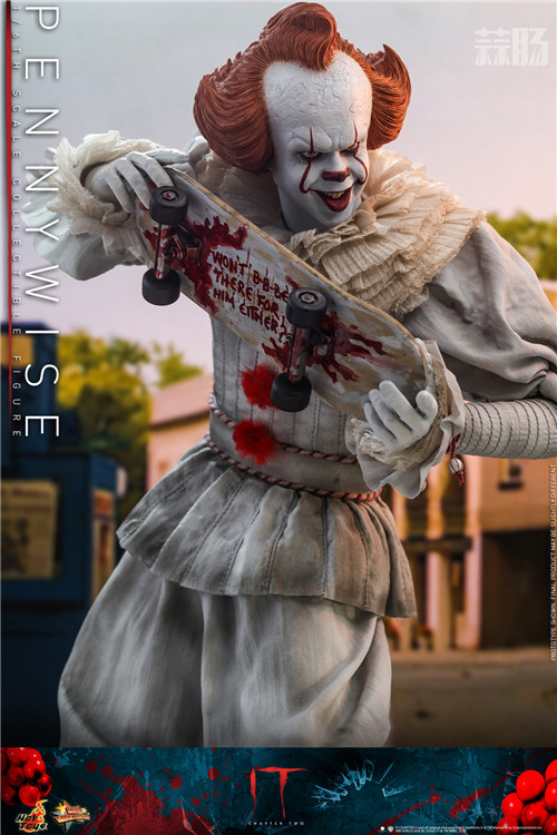 Hot Toys推出《小丑回魂2》潘尼怀斯1:6比例珍藏人偶 潘尼怀斯 hottoys HT 小丑回魂2 模玩  第2张