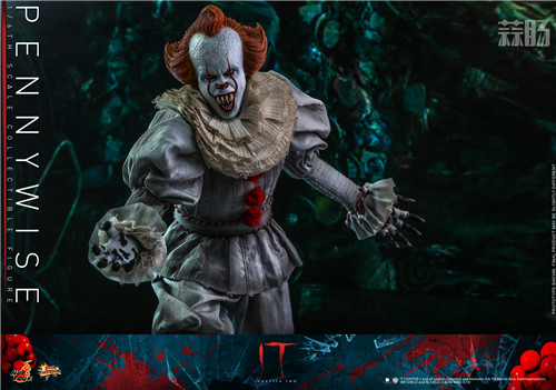 Hot Toys推出《小丑回魂2》潘尼怀斯1:6比例珍藏人偶 潘尼怀斯 hottoys HT 小丑回魂2 模玩  第5张