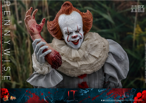 Hot Toys推出《小丑回魂2》潘尼怀斯1:6比例珍藏人偶 潘尼怀斯 hottoys HT 小丑回魂2 模玩  第7张