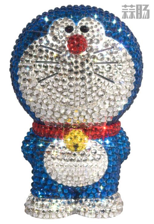 MEDICOM推出78000日元的水晶多啦A梦 全身镶嵌施华洛世奇水晶? 模玩 第1张