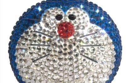 MEDICOM推出78000日元的水晶多啦A梦 全身镶嵌施华洛世奇水晶?