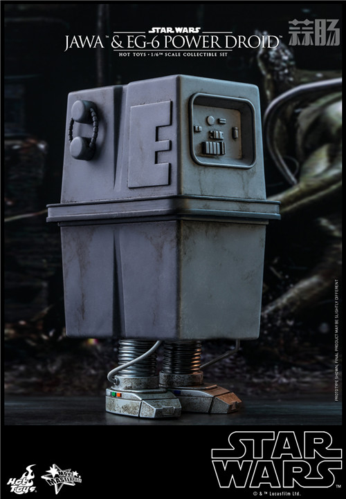HT推出《星球大战4:新希望》贾瓦人及EG-6 1:6人偶套装 模玩 第3张