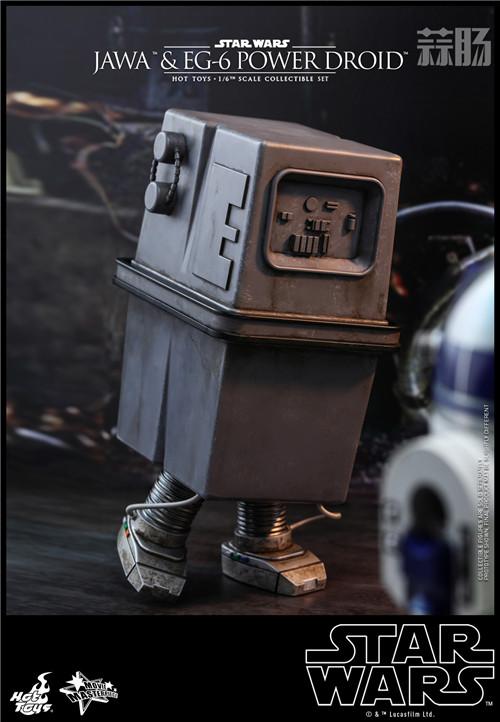HT推出《星球大战4:新希望》贾瓦人及EG-6 1:6人偶套装 模玩 第6张