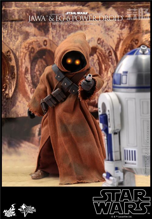 HT推出《星球大战4:新希望》贾瓦人及EG-6 1:6人偶套装 模玩 第5张
