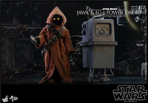 HT推出《星球大战4:新希望》贾瓦人及EG-6 1:6人偶套装 模玩 第7张