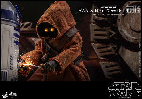 HT推出《星球大战4:新希望》贾瓦人及EG-6 1:6人偶套装 模玩 第8张
