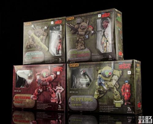 B2FIVE《裝甲骑兵VOTOMS》 ARMORED TROOPER (AT) SCOPEDOG 四款眼镜狗 官图更新 