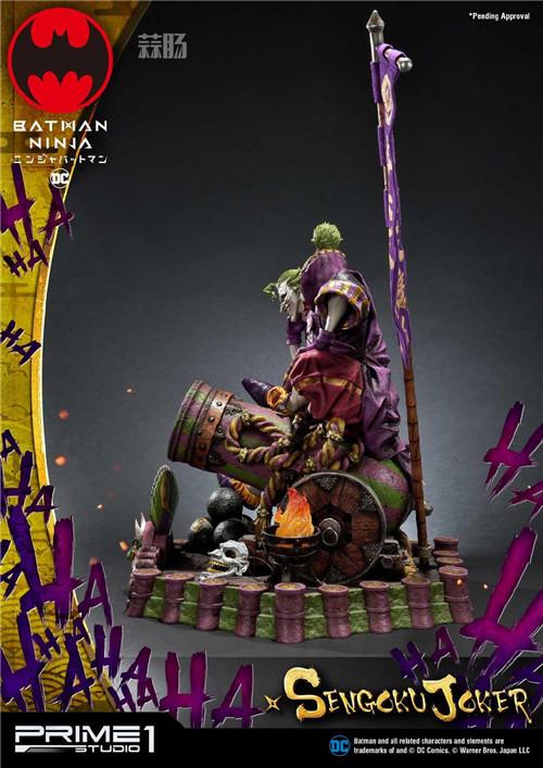 Prime 1 Studio 公布1:4《忍者小丑》第六天魔王版雕像 定价超万元! 模玩 第2张